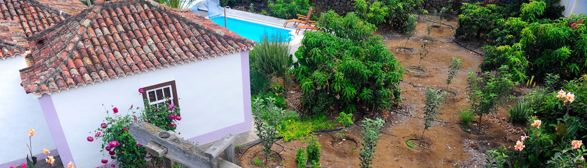 casa rural el sitio la rosa, alojamiento rural mazo, isla de la palma, canarias